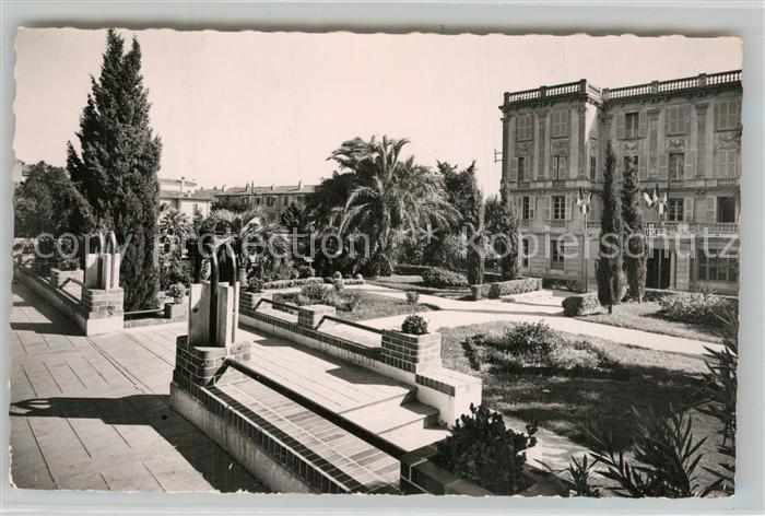 AK / Ansichtskarte Hyeres_les_Palmiers Avenue de Belgique et les jardins Hyeres_les_Palmiers 0