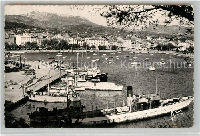 AK / Ansichtskarte Sanary sur Mer Vue generale et le port Cote d Azur Sanary sur Mer