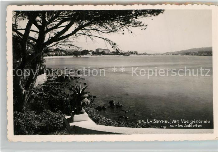 AK / Ansichtskarte La_Seyne sur Mer Vue generale sur les Sablettes Cote d Azur La_Seyne sur Mer 0