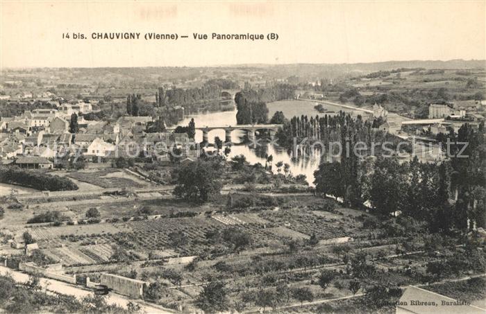 AK / Ansichtskarte Chauvigny Vue panoramique Chauvigny 0