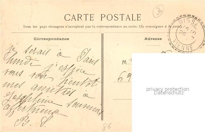 AK / Ansichtskarte Mareuil sur Lay Dissais Le Chateau Vu de l'avenue de la Gare Mareuil sur Lay Dissais 1