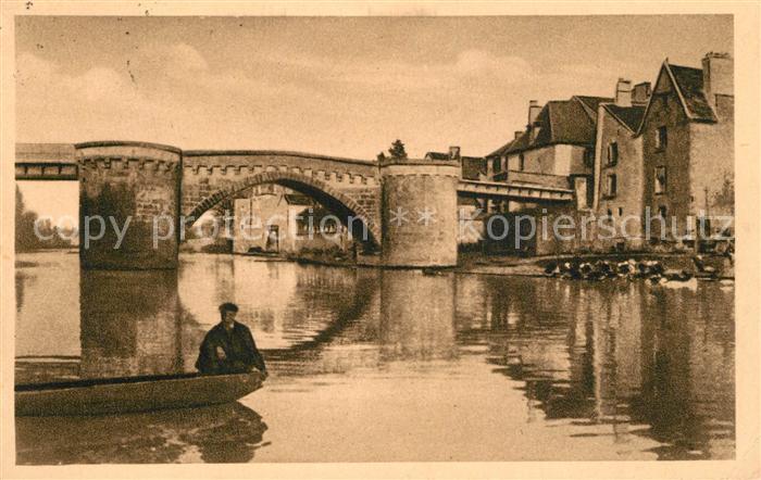 AK / Ansichtskarte Montmorillon Le Vieux Pont Montmorillon