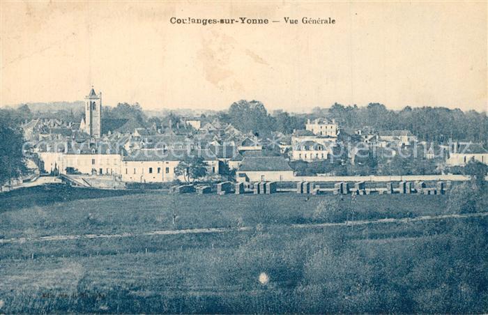 AK / Ansichtskarte Coulanges sur Yonne Vue generale Coulanges sur Yonne