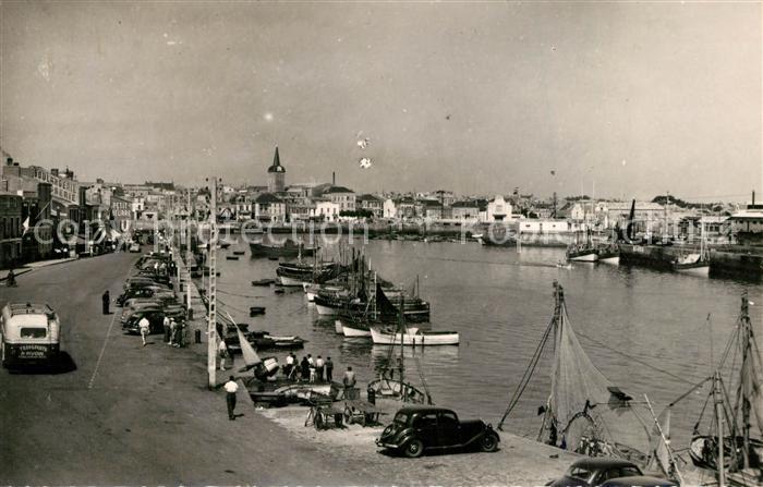 AK / Ansichtskarte Les_Sables d_Olonne Vue generale du Port Les_Sables d_Olonne 0