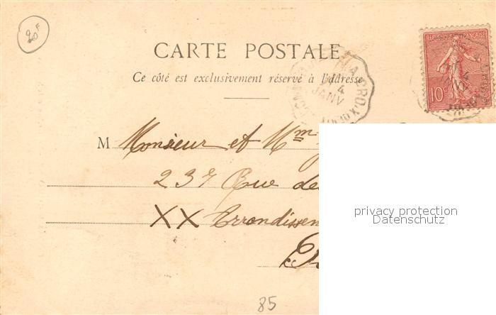 AK / Ansichtskarte Les_Sables d_Olonne La Marchande des Sardines Les_Sables d_Olonne 1