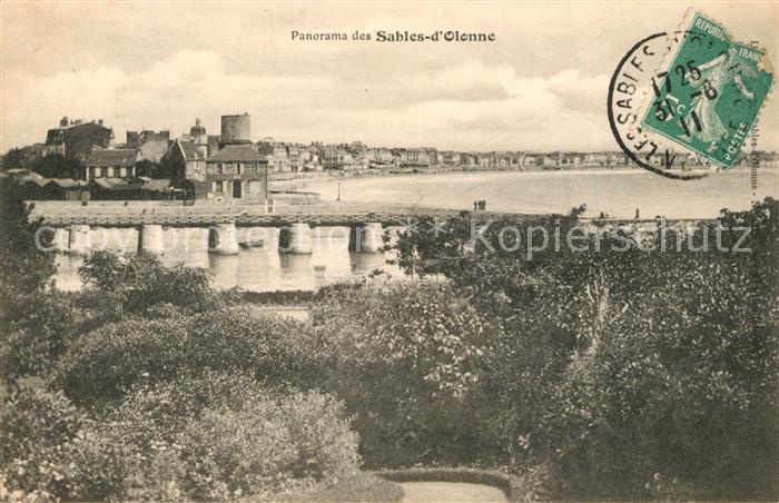 AK / Ansichtskarte Les_Sables d_Olonne Panorama Les_Sables d_Olonne 0