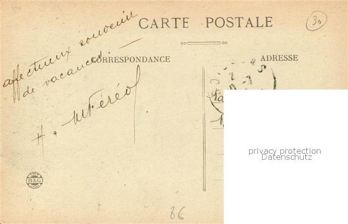 AK / Ansichtskarte Usson du Poitou Chateau de Busseroux Usson du Poitou 1