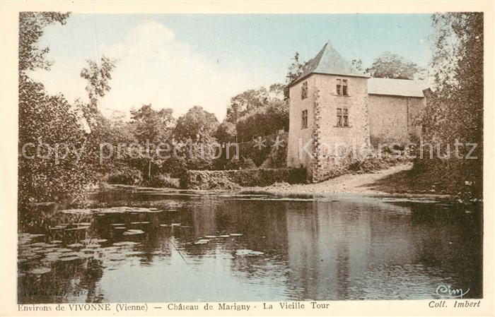 AK / Ansichtskarte Vivonne Chateau de Marigny La Vieille Tour Vivonne