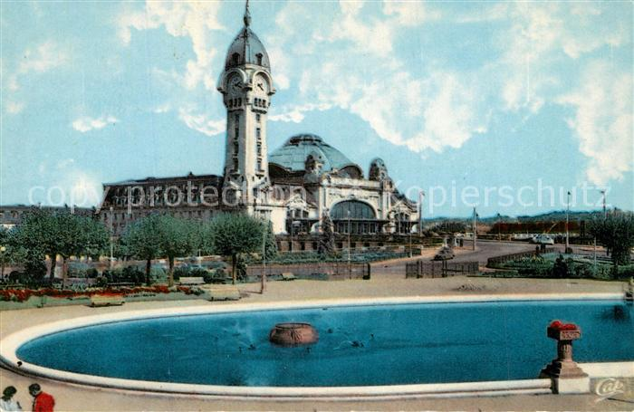 AK / Ansichtskarte Limoges_Haute_Vienne La Gare Limoges_Haute_Vienne 0