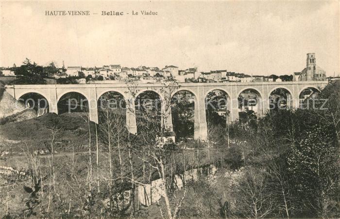 AK / Ansichtskarte Bellac Le Viaduc Bellac