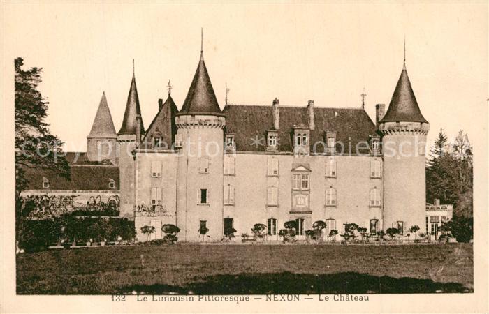 AK / Ansichtskarte Nexon Le Chateau Nexon 0