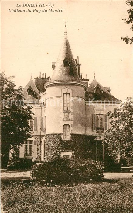 AK / Ansichtskarte Le_Dorat Chateau du Puy du Monteil Le_Dorat 0