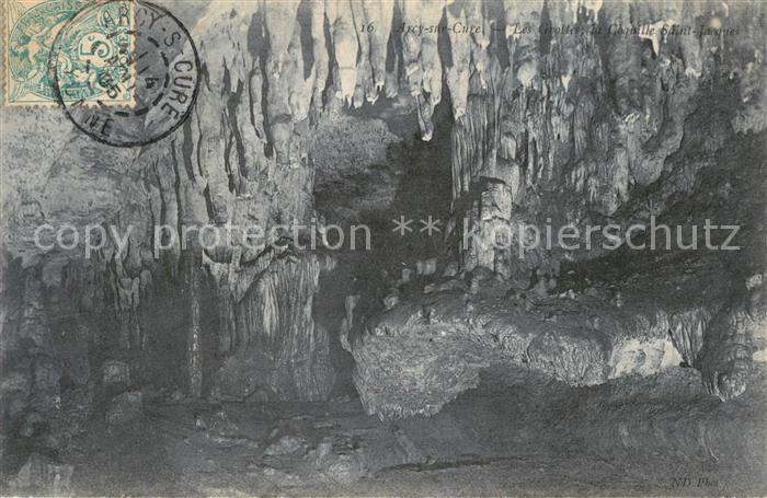 AK / Ansichtskarte Arcy sur Cure_Yonne Felsengrotte Arcy sur Cure Yonne