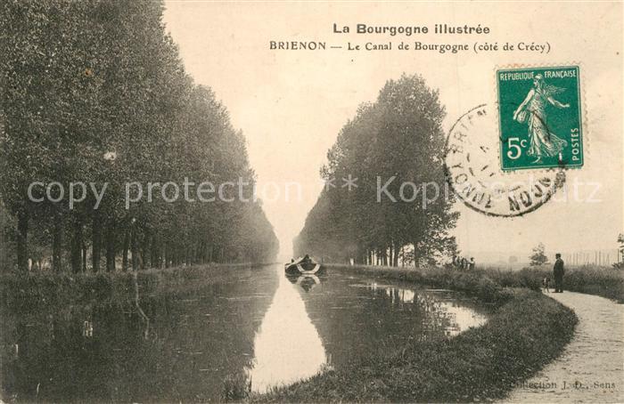 AK / Ansichtskarte Brienon sur Armancon_Bourgogne Le Canal de Bourgogne Brienon sur Armancon 0