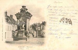 AK / Ansichtskarte Bleneau Monument Bleneau