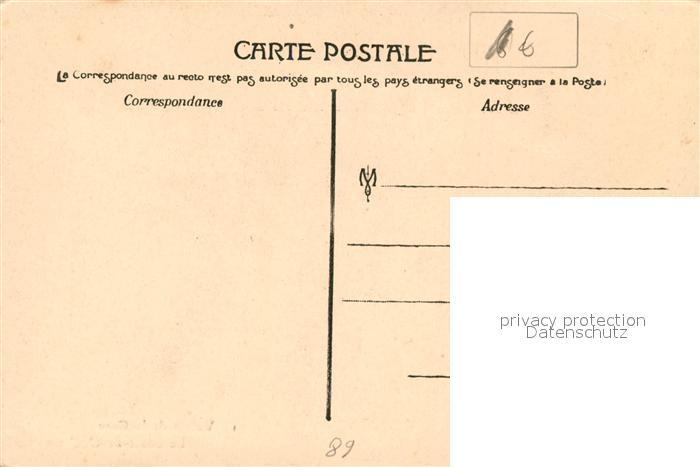 AK / Ansichtskarte La_Cure Le Sault de Gouloux La_Cure 1