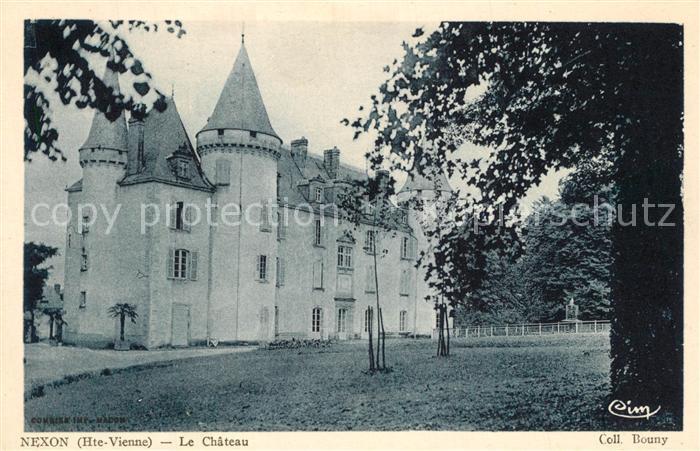 AK / Ansichtskarte Nexon Le Chateau Nexon