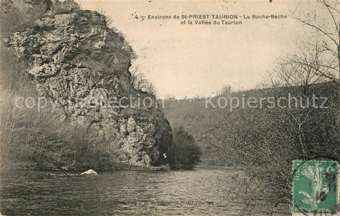 AK / Ansichtskarte Saint Priest Taurion La Roche Beche et la Vallee du Taurion Saint Priest Taurion 0
