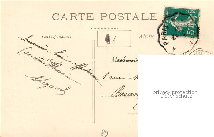 AK / Ansichtskarte La_Celle Saint Cyr Interieur de l Eglise La_Celle Saint Cyr 1