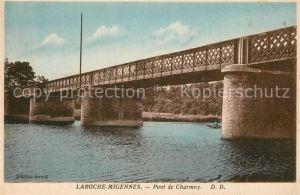 AK / Ansichtskarte Laroche_Migennes Pont de Charmoy Laroche Migennes