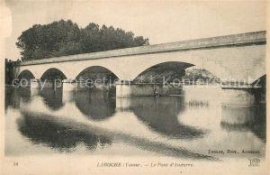 AK / Ansichtskarte Laroche_Migennes Le Pont d Auxerre Laroche Migennes