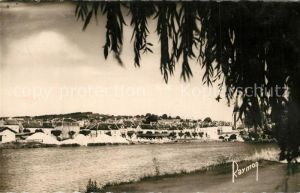 AK / Ansichtskarte Pont sur Yonne Vue generale des bords de l Yonne Pont sur Yonne