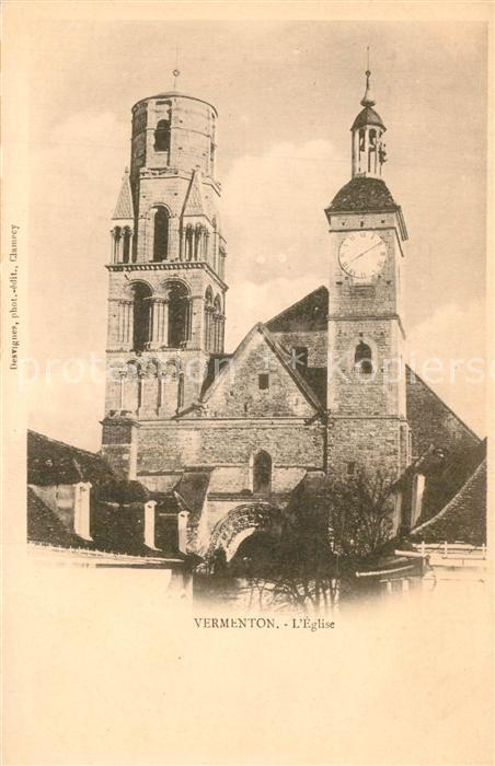 AK / Ansichtskarte Vermenton Eglise Vermenton