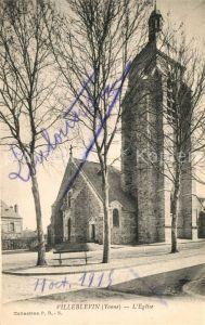 AK / Ansichtskarte Villeblevin Eglise Villeblevin