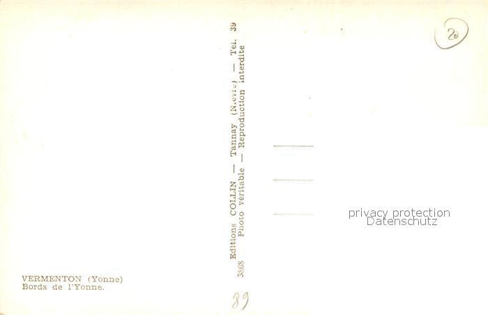 AK / Ansichtskarte Vermenton Bords de l Yonne Vermenton 1