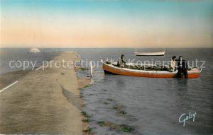 AK / Ansichtskarte Vendee Passage du Gois Maree Montante Vendee