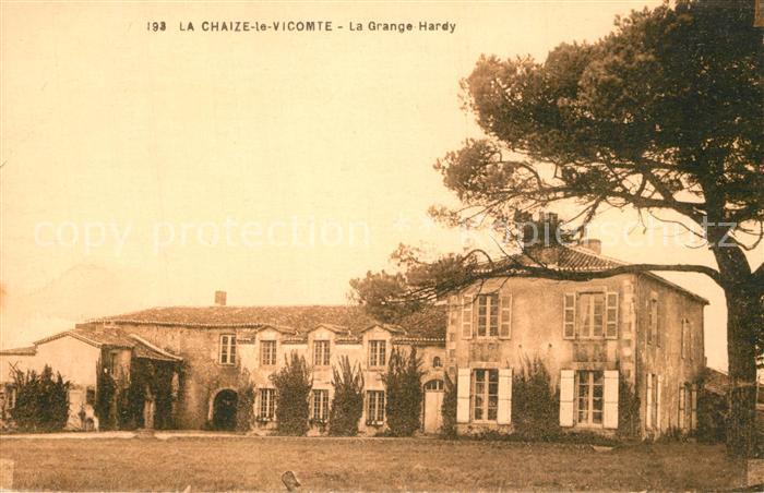 AK / Ansichtskarte La_Chaize le Vicomte La Grange Hardy La_Chaize le Vicomte 0
