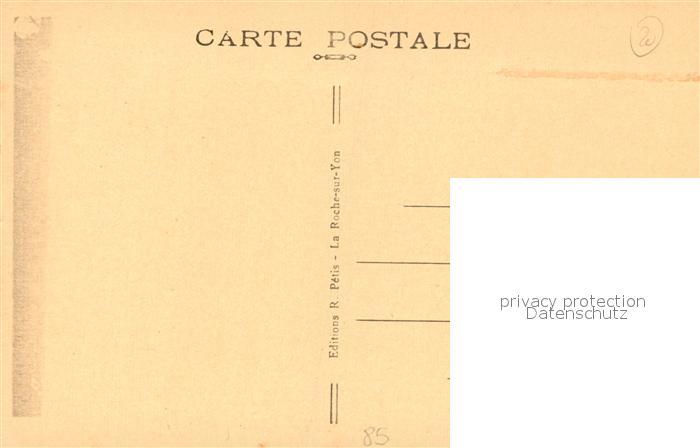 AK / Ansichtskarte La_Chaize le Vicomte Chateau de Bel Air La_Chaize le Vicomte 1