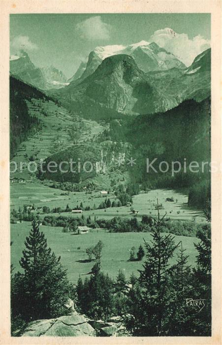 AK / Ansichtskarte Pralognan la Vanoise Panorama La Grande Casse Alpes Pralognan la Vanoise