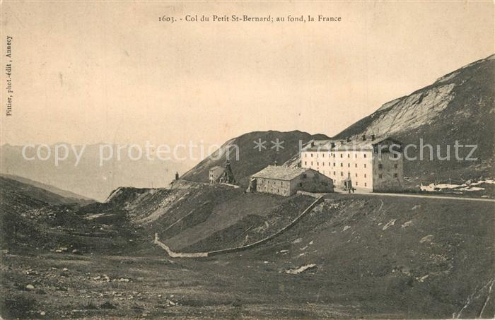 AK / Ansichtskarte Col_du_Petit_Saint_Bernard Alpenpass Berghotel Col_du 0