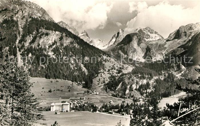 AK / Ansichtskarte Pralognan la Vanoise Panorama Massif de la Vanoise et la Grande Cordee Alpes Pralognan la Vanoise