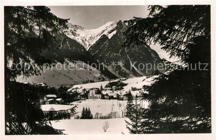 AK / Ansichtskarte Pralognan la Vanoise Panorama en hiver Alpes Pralognan la Vanoise