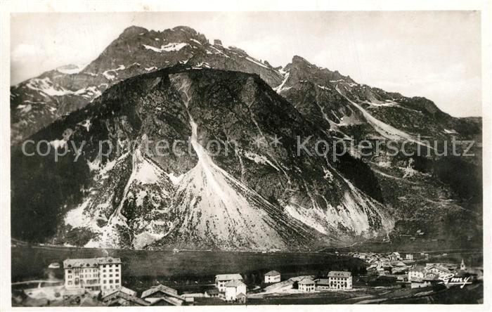 AK / Ansichtskarte Pralognan la Vanoise Panorama Roc de Passas Aiguilles de Mai Alpes Pralognan la Vanoise