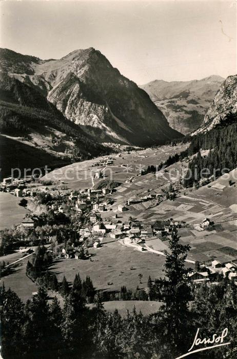 AK / Ansichtskarte Pralognan la Vanoise Vue generale prise du Belvedere Alpes Pralognan la Vanoise