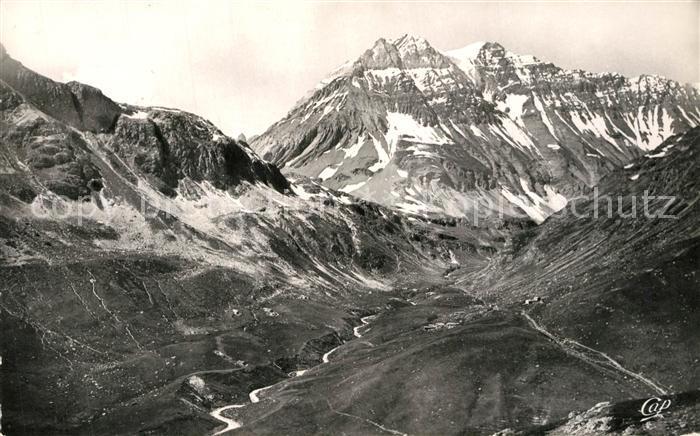 Pralognan la Vanoise Panorama La Grande Casse et Vallee de la Leisse Alpes Pralognan la Vanoise