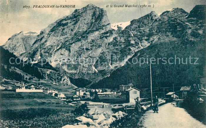 Pralognan la Vanoise Panorama et le Grand Marchet Alpes Francaises Pralognan la Vanoise