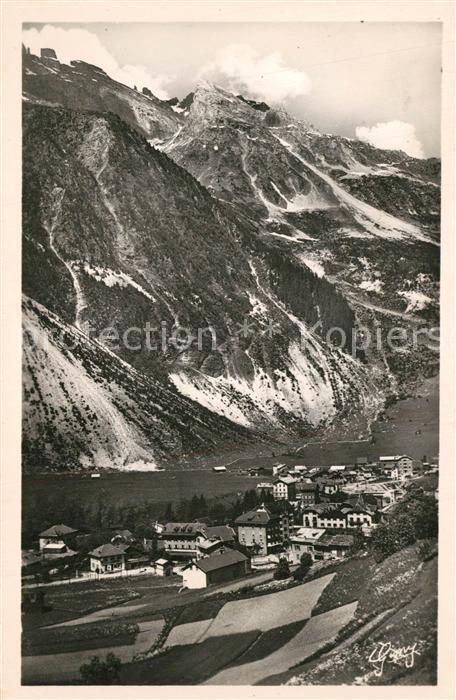 Pralognan la Vanoise Vue generale Aiguille de Mey Alpes Francaises Pralognan la Vanoise 0