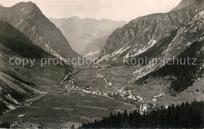 Pralognan la Vanoise Panorama Vallee et la chaine du Jovet Alpes Francaises Pralognan la Vanoise