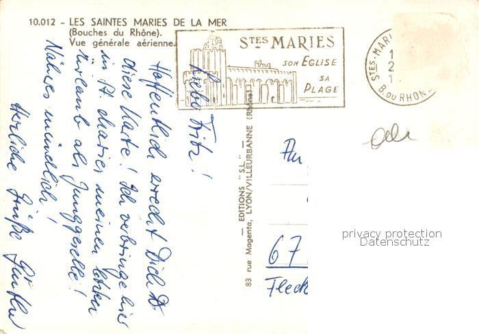 Les_Saintes Maries de la Mer Vue generale aerienne Les 1