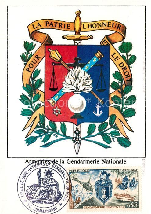 Le_Mans_Sarthe Armoiries de la Gendarmerie Nationale Le_Mans_Sarthe