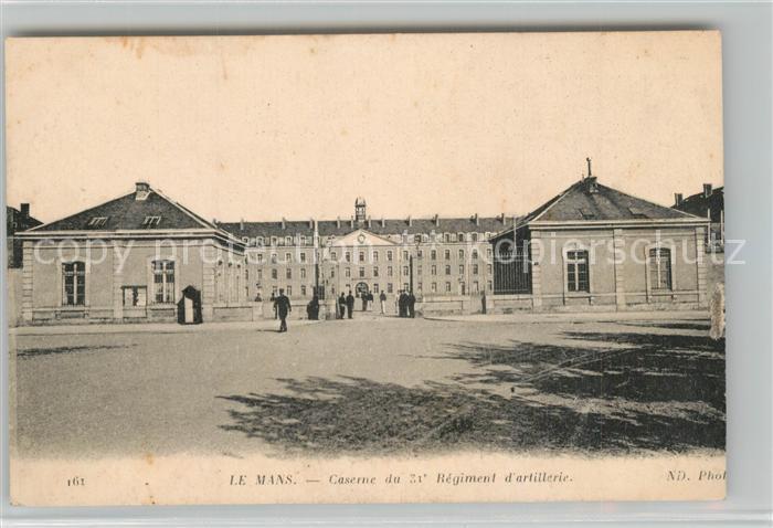 Le_Mans_Sarthe Caserne du 31e Regiment d'Artillerie  Le_Mans_Sarthe