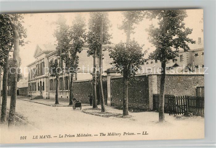 Le_Mans_Sarthe La Prison Militaire  Le_Mans_Sarthe 0