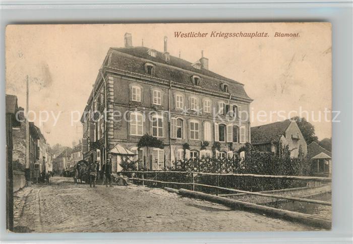 Blamont_Meurthe et Moselle Dorfmotiv Blamont 0