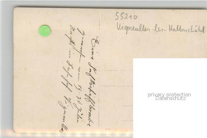 Vigneulles les Hattonchatel Soldat auf Wache am Bahnhof Vigneulles les Hattonchatel 1