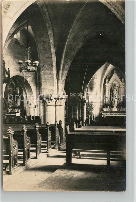 Vigneulles les Hattonchatel Kirche Inneres Vigneulles les Hattonchatel