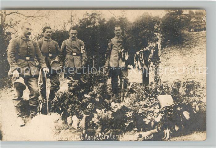 Kapellenberg Soldaten bei Beerdigung Kapellenberg